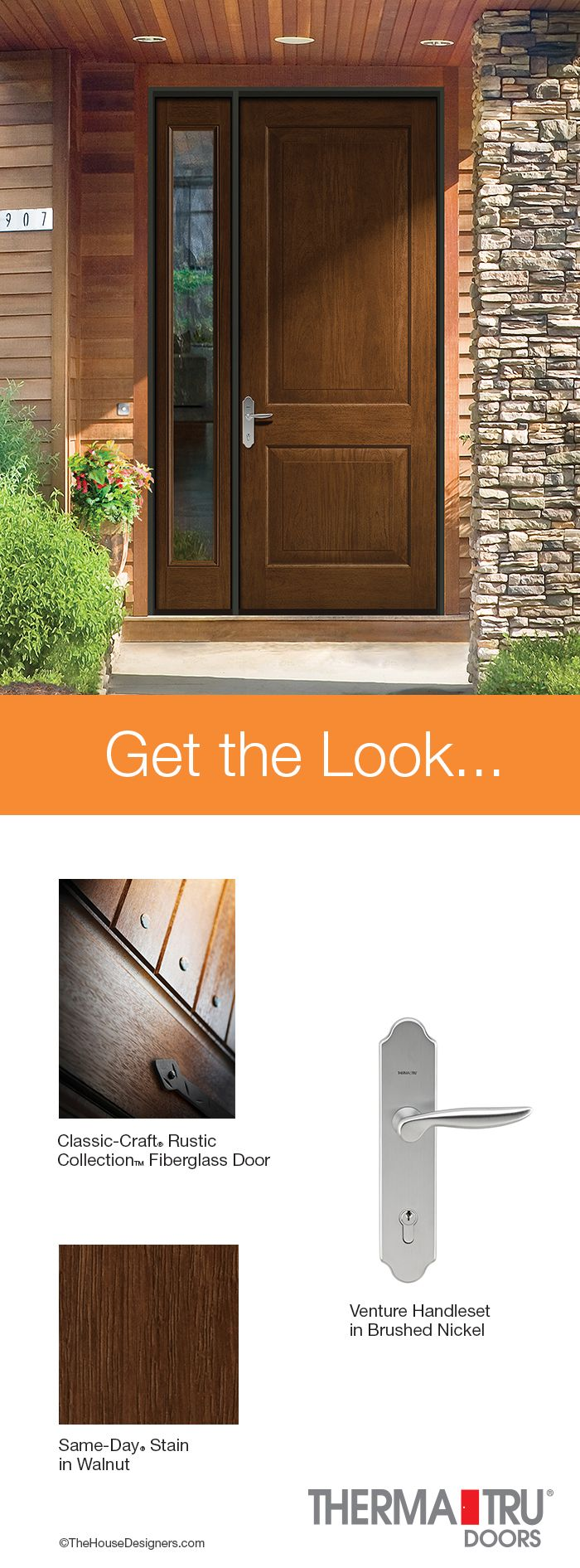 1000 images about get the look on pinterest cherries for Energy efficient entry doors