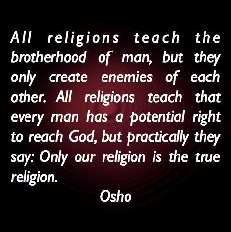 #religion #osho
