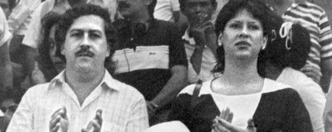 Pablo escobar & his wife