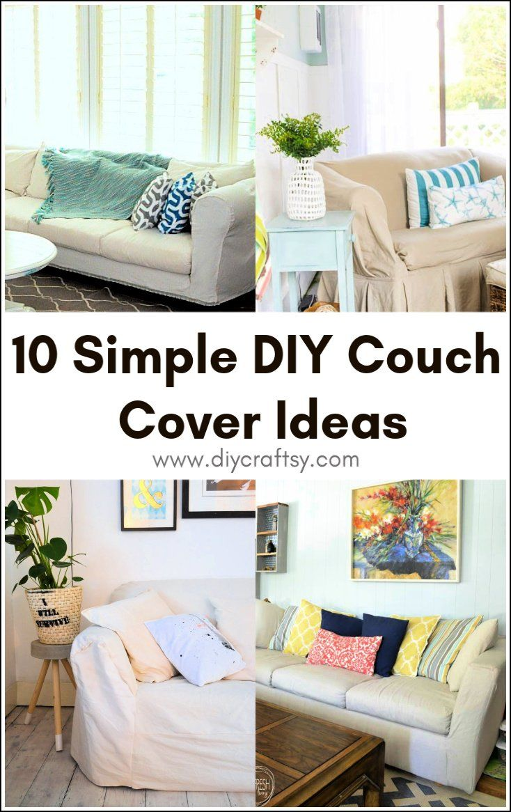 10 Simple Diy Couch Cover Ideas You Can