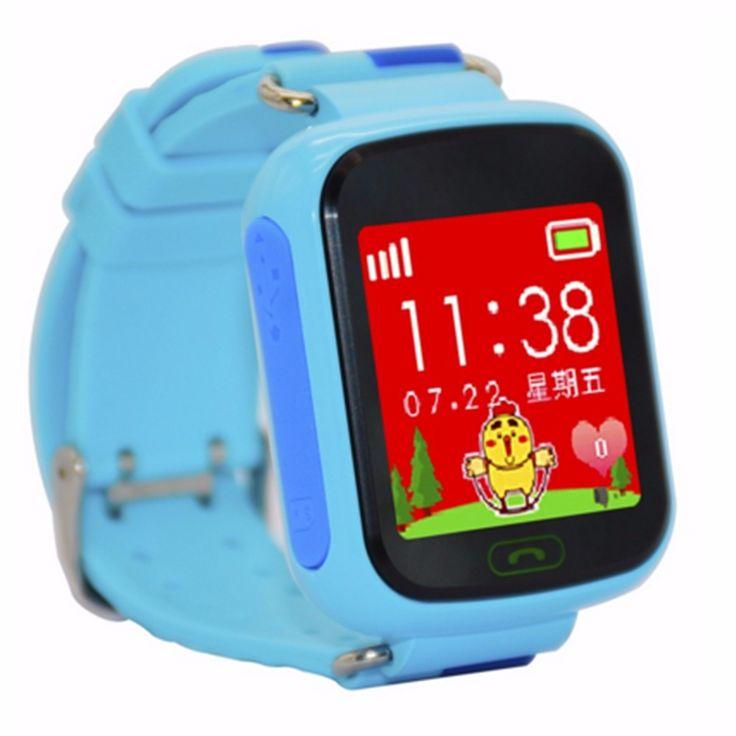 Sichere anti verloren monitor baby geschenk kinder smart watch telefon sim karte gps tracker für kinder sos smartwatch android ios //Price: $US $21.83 & FREE Shipping //     #smartuhren