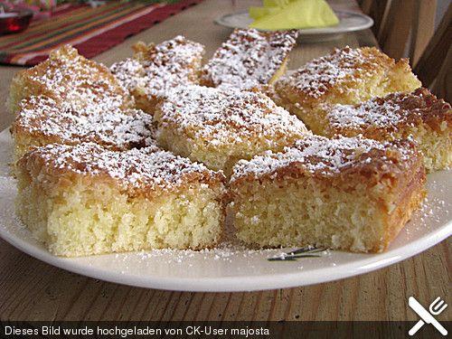 Kokos - Butterkuchen (Rezept mit Bild) von missoliver | Chefkoch.de