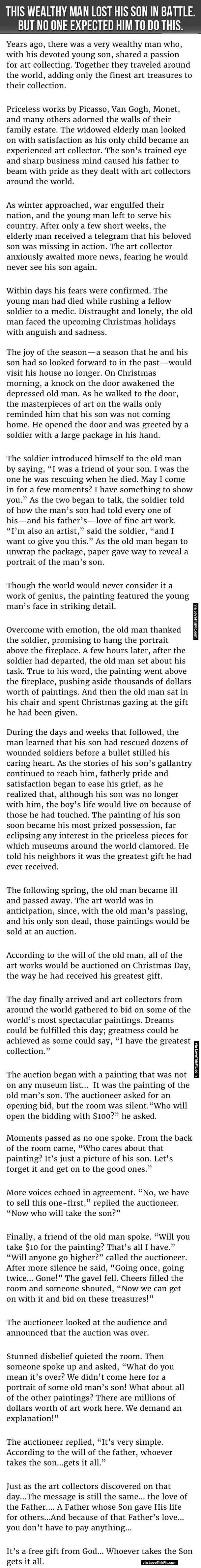 This Wealthy Man Loses His Son In Battle But No One Expected Him To Do This.
