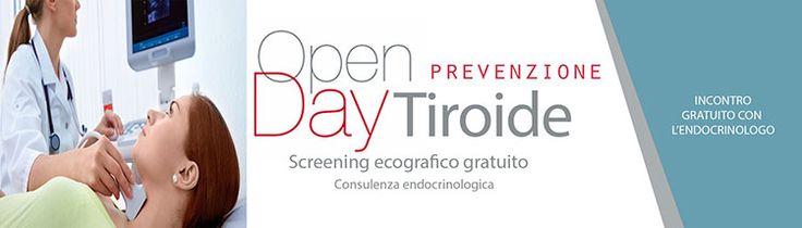 OpenDay Tiroide Centro Medico Nicolosi