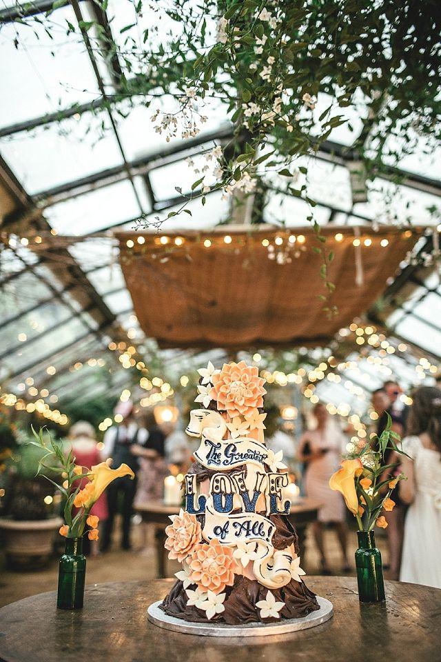 Petersham Nurseries Wedding by Kat Hill