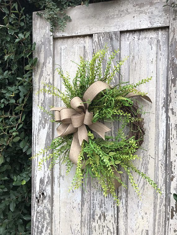 Front Door Wreath Year Round