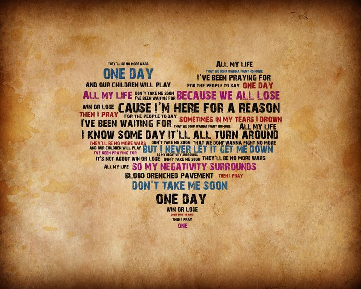 Matisyahu -  One Day...I LOVE this song! Emblem 3 sang it amazingly :) <3
