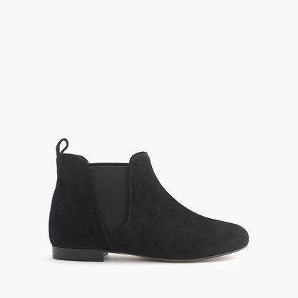 Made in Italy, these cool Chelsea boots are like the ones Mom wears (and are sure to earn her major playground cred). <ul><li>Leather upper.</li><li>Man-made lining and sole.</li><li>Made in Italy.</li><li>Online only.</li></ul>