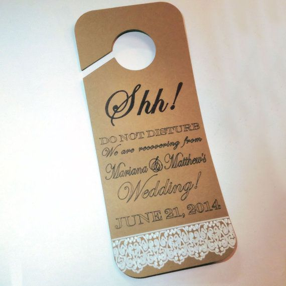 Best Door Hanger Images On   Door Hangers Hotel