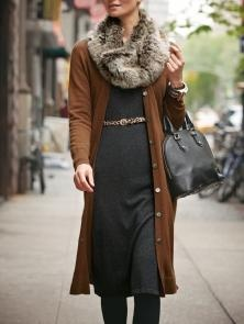 PURE Collection Cashmere Longline Cardigan: Flattering and sophisticated, yet comfortable enought to wear every day.
