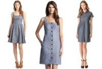 A Chambray Dress : The Lucky Guide to Dressing for Summer Fridays