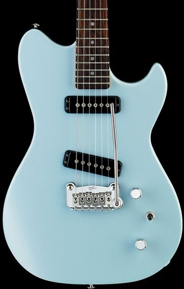 G&L Guitar in Himalayan Blue. I would love a G&L bass someday in this color.