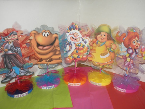 Candy Land Party  Centerpieces by flowers130 on Etsy, $18.95