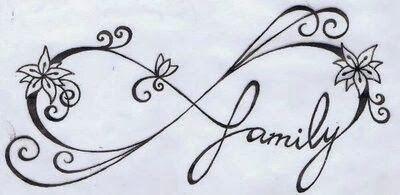 Ιnfinity tattoo stencils