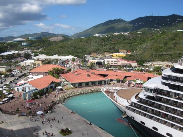 port of charlotte amalie St Thomas Ilhas virgens americanas Na dúvida embarque