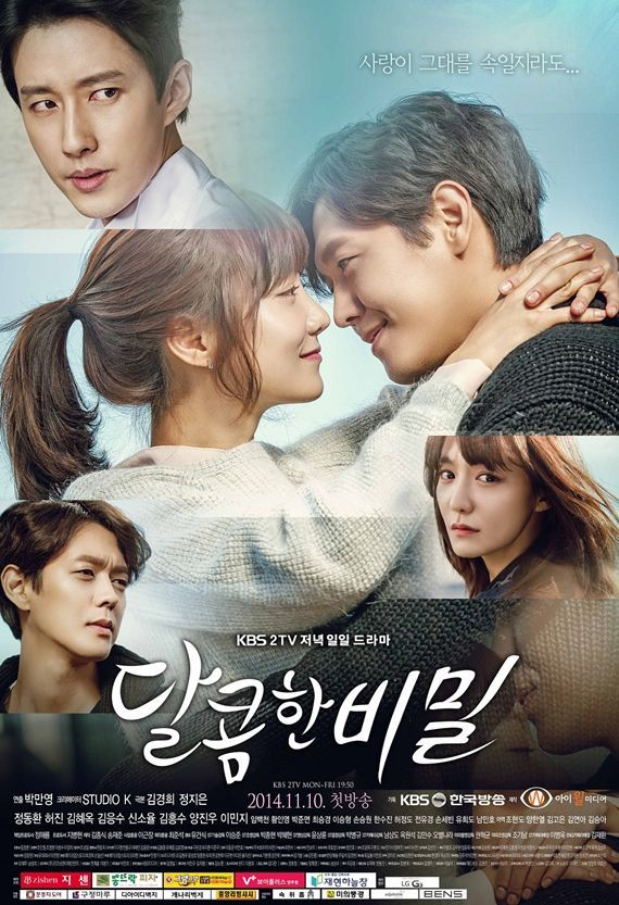 Love & Secret, a.k.a. Sweet Secret (South Korea, 2014-2015; KBS2). Starring Shin So-yul, Kim Heung-soo, Yang Jin-woo, and more. Aired Monday through Friday at 7:50 p.m. (5 eps/week) [Info via Asian Wiki] >>> Currently available on DramaFever and KBS World's YouTube channel.