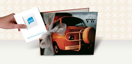 Presentkort på Blurb fotoböcker (inget annat fotoboks-ställe än Blurb :P)