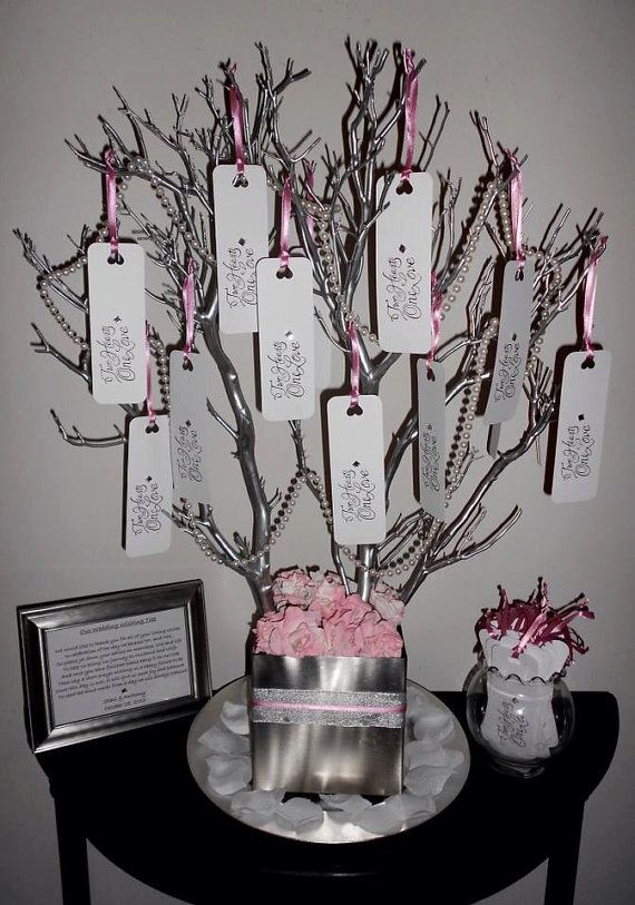 Wedding Wish Tree/ Guestbook Tree by MyArBelle on Etsy, $160.00