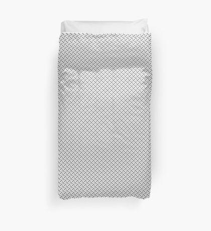 Scandinavian grey white modern pattern duvet cover