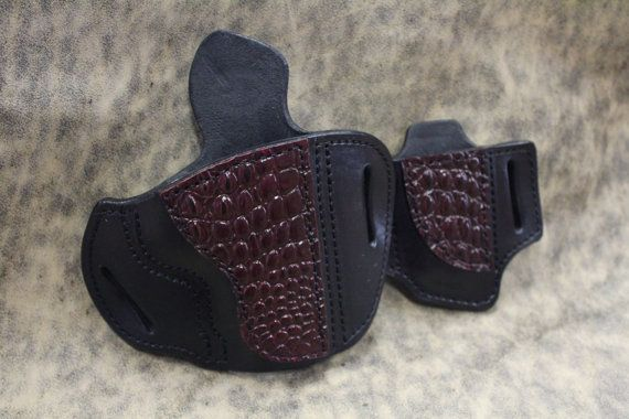 Handmade Custom Holster and Mag Holder for 1911 by TinBadgeLeather, $119.95