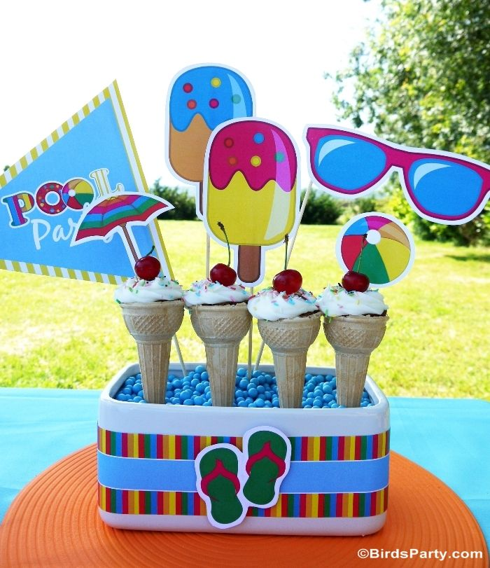 Pool Party DIY Ideas And Decor
