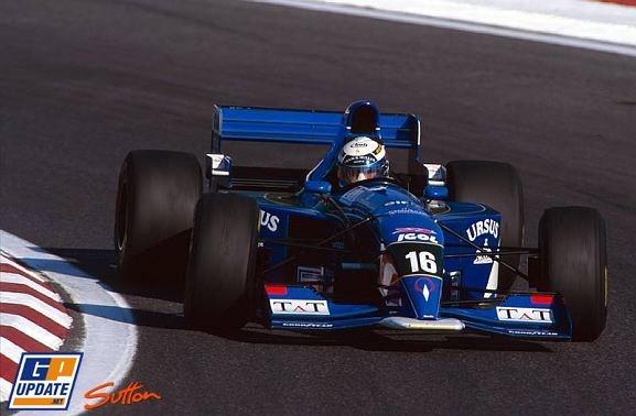 Jean-Denis Deletraz, Estoril 1995, Pacific PR02