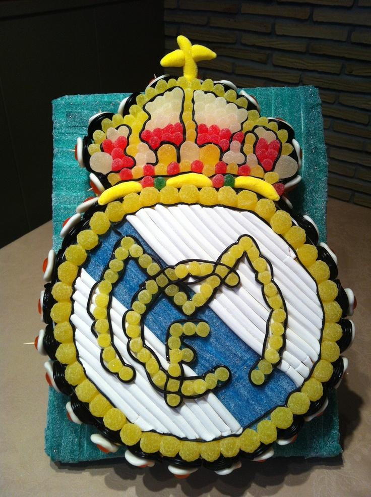 Como Decorar Tartas Con Fondant Del Real Madrid