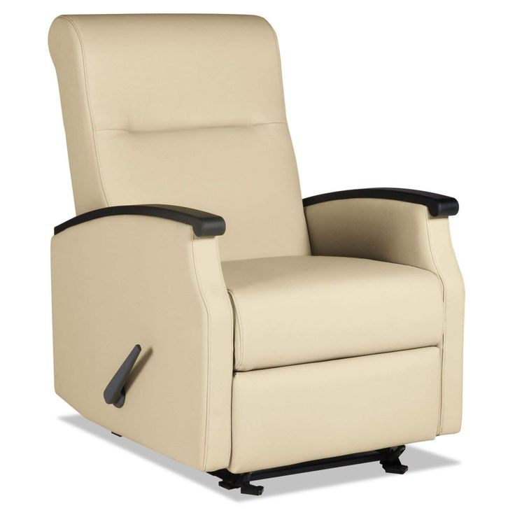 La-Z-Boy Contract Florin Collection Room Saver Taupe Vinyl Recliner
