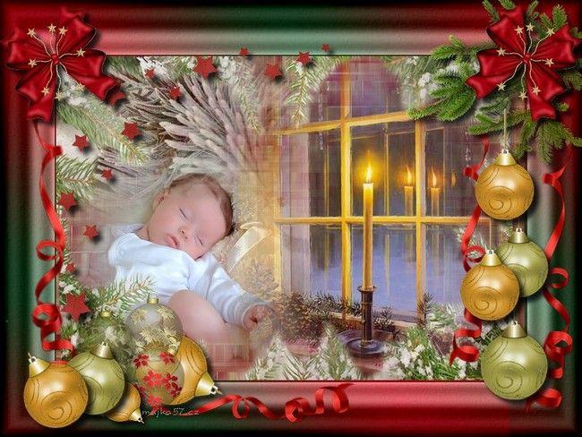Vánoční obrázky s hudbou