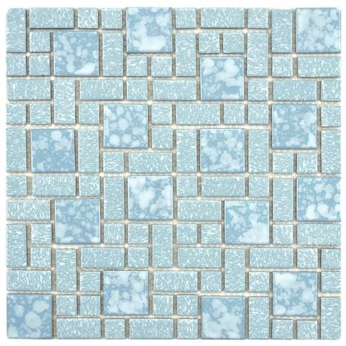 Show Details For University Blue 11 3 4 X11 3 4 Porcelain Mos Mosaic Flooring Porcelain Mosaic Tile Porcelain Mosaic
