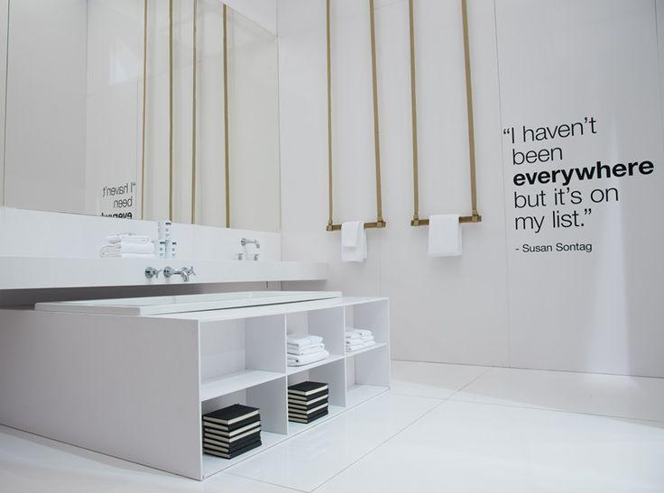 Cosentino Salone Milano 16 4 The Toronto Town Home Total Revestimiento De Silestone Color Blanco Zeus