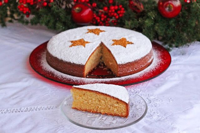 Βασιλόπιτα Κέικ / Vasilopita, the New Year's Greek Cake