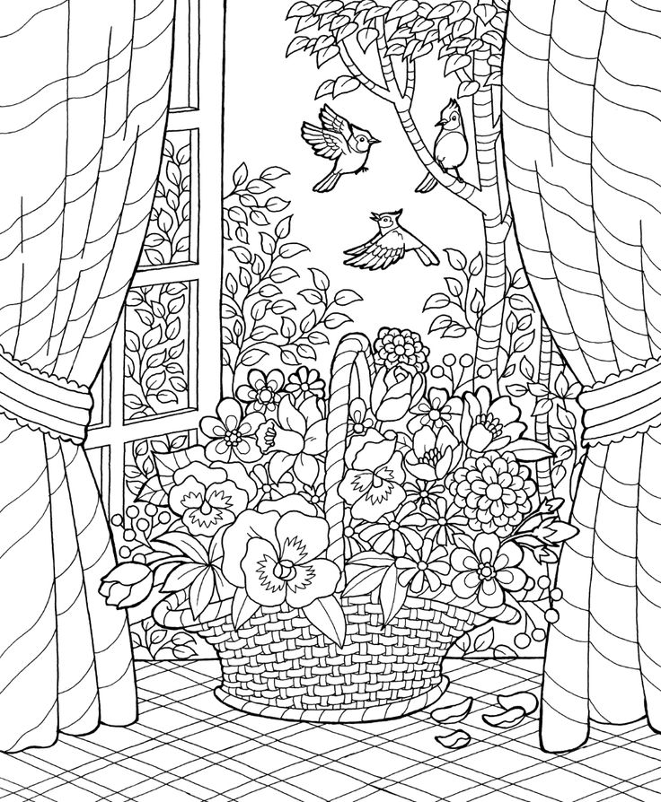 921 best Coloring Pages - Spring Summer images on Pinterest - new coloring page fig tree