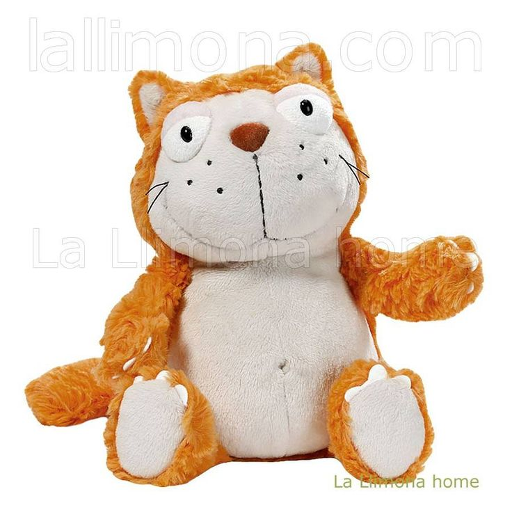 Nici peluches y complementos - Nici gato Hungry peluche 35