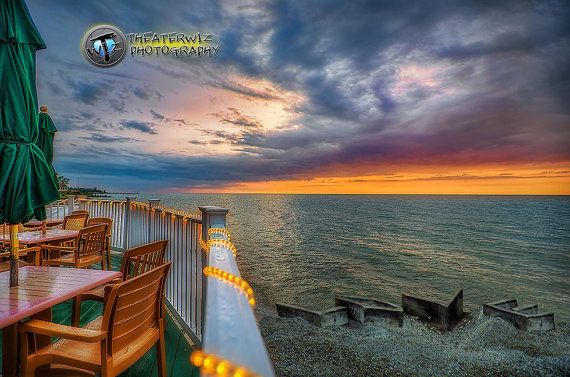 Anniversary Sunset Geneva On The Lake Ohio  by CriswellPhotography, $15.00