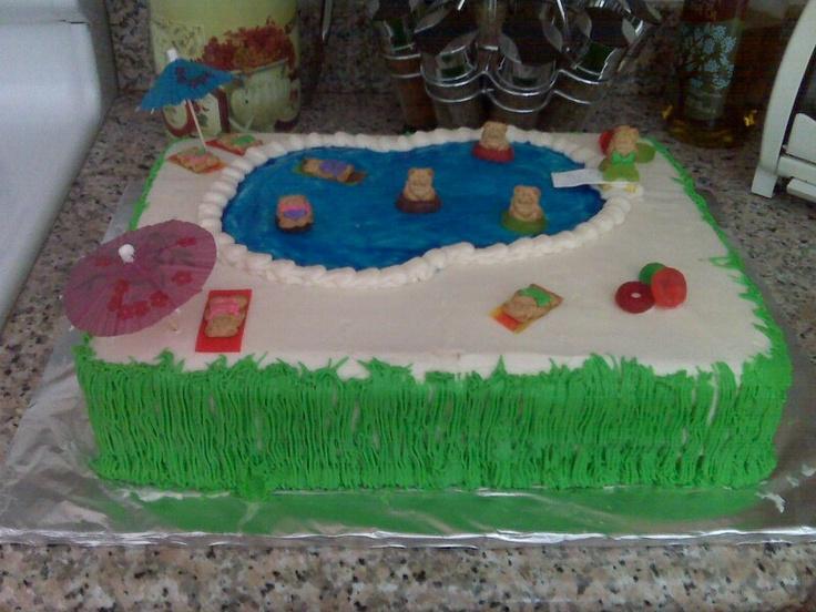swimming pool cake. Interior Design Ideas. Home Design Ideas