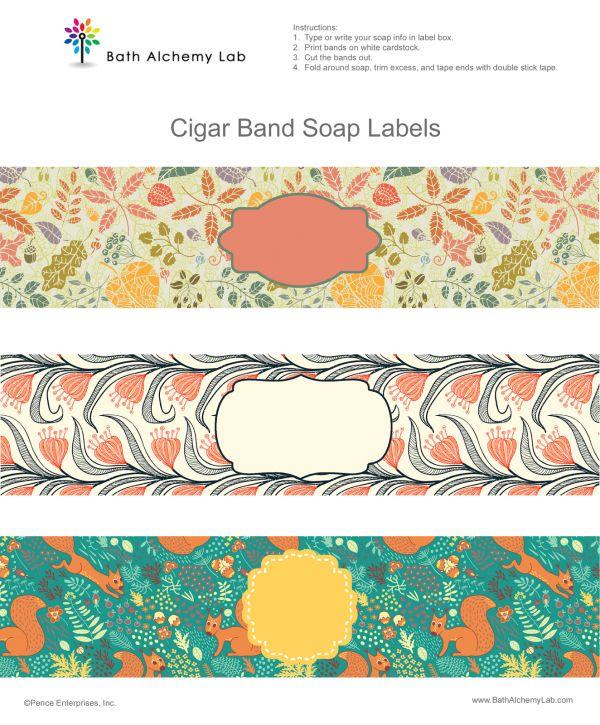 free printable soap wraps soaping bath body pinterest soap