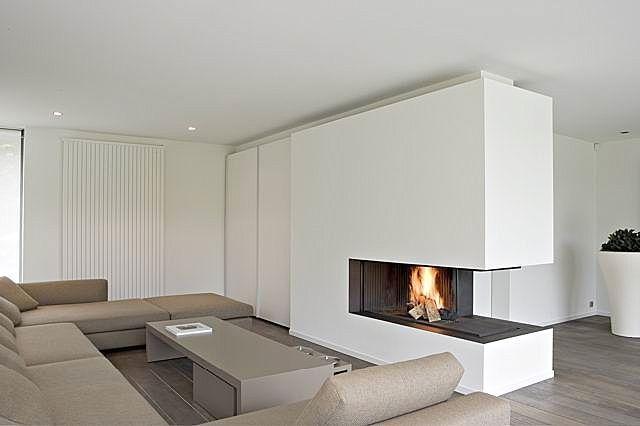 three sided fireplace | Matilda Rose Interiors: Fireplaces