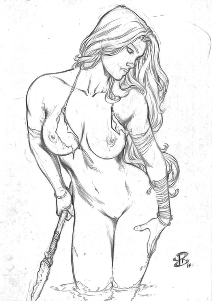 Shanna By Renato Camilo Art  Shanna Jungle Girl -1866