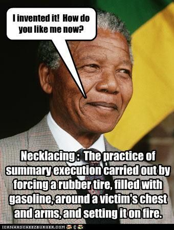 barking nelson mandela and why not on
