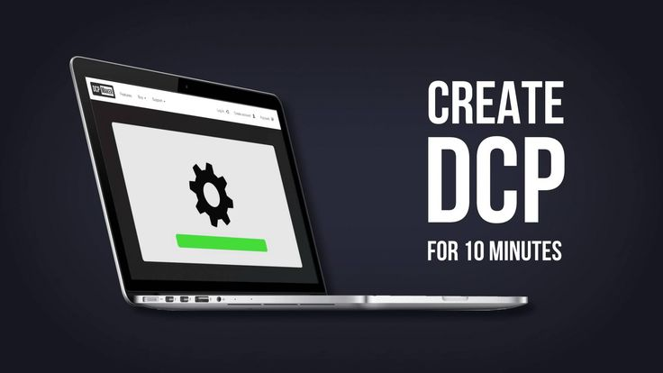 How to make a DCP (Digital Cinema Package)?    Cloud DCP Creator http://dcpmaker.com