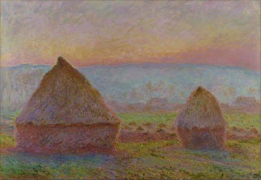 Grainstacks at Giverny; the Evening Sun - Claude MONET — Google Arts & Culture