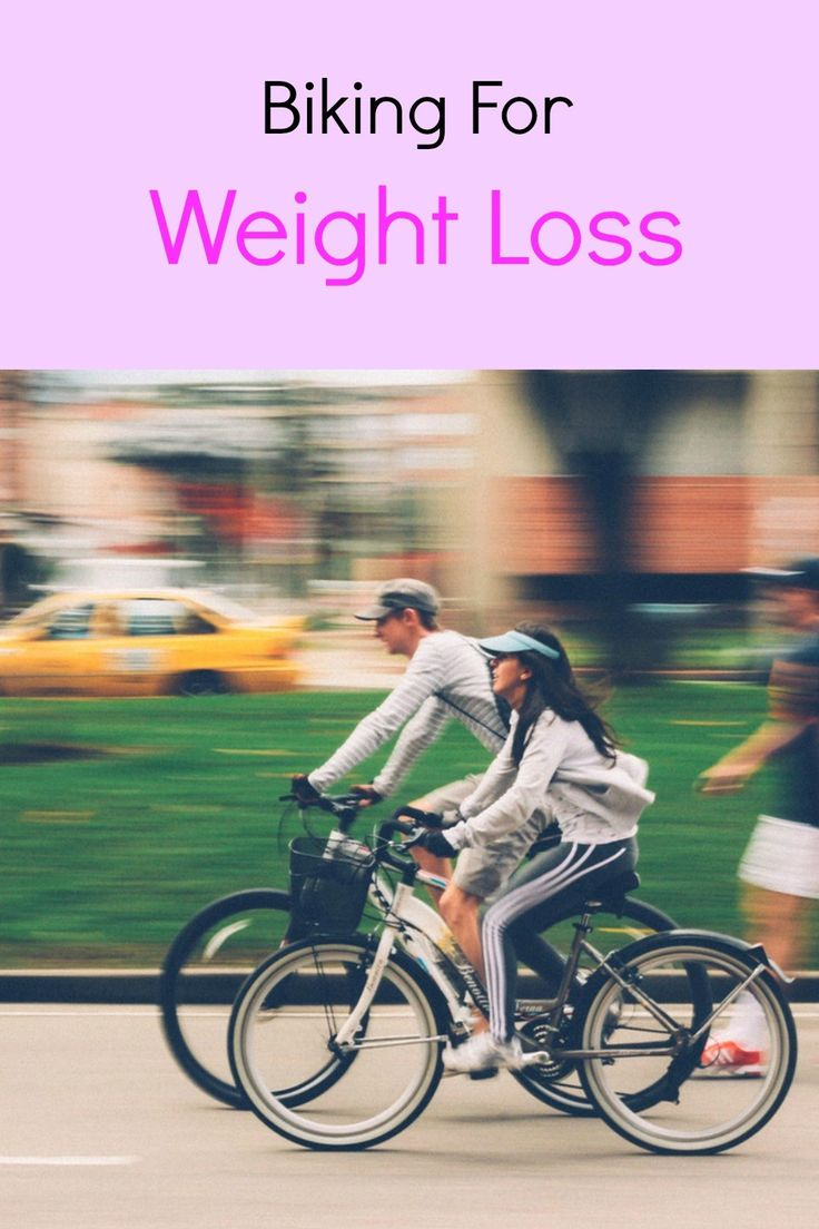 Biking for weight loss.  Biking is a great way to get fir, lose weight and get in shape.  Here are some top tips.