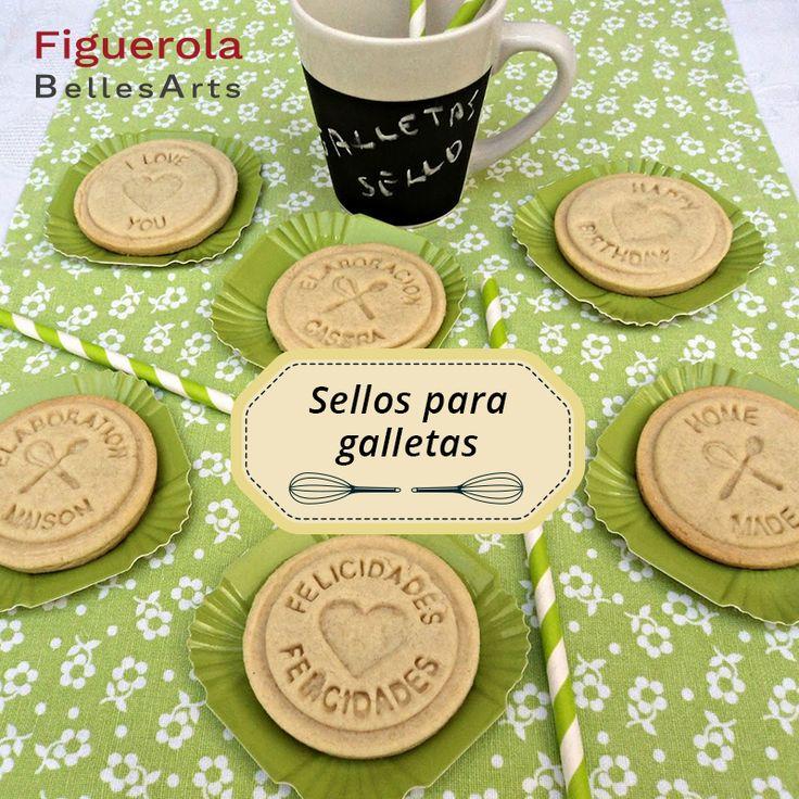¡Personaliza tus #galletas con estos #sellos de Artemio!