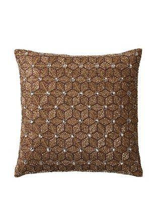 65% OFF Aviva Stanoff Jewel Pillow, Cocoa