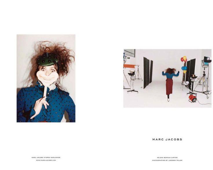 Marc Jacobs Fall 2011 Campaign   Helena Bonham Carter by Juergen Teller