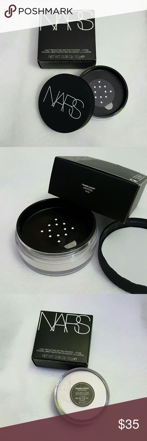 NARS Light-Reflecting Loose Setting Powder Are you a NARS girl? Then this is the perfect setting powder for you to use with your luminous foundation, weighless foyndation, Orgasm Collection, Audacious Lips etc. Bundle and get 20% off your entire purchase. NARS Makeup Face Powder