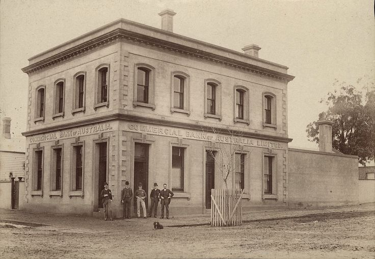Commercial Bank Horsham, Victoria 1880s