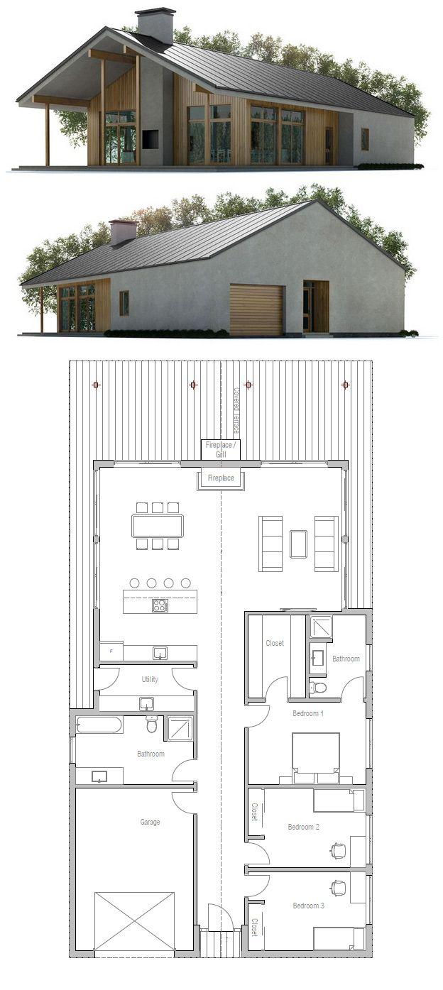 Grundrisse home pläne warenhaus grundrisse holzhaus kleines haus plans architecturaux passivhaus rever