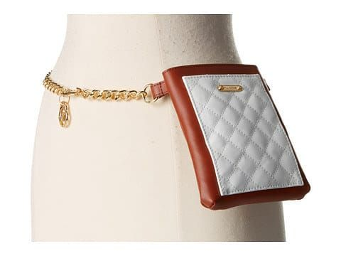 MICHAEL Michael Kors Quilted Pocket Belt Bag on Chain Strap, $98.
